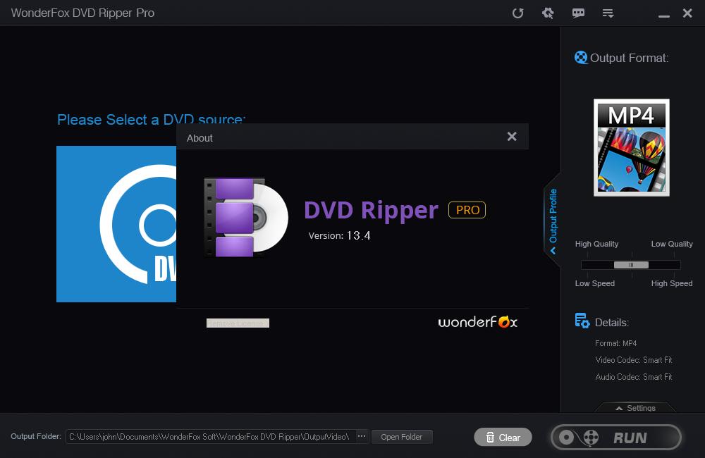 WonderFox Free DVD Ripper
