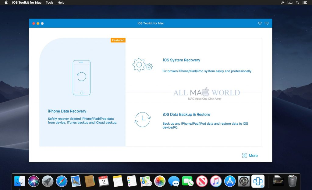 AnyMP4 iPhone Data Recovery Tool, Best iPhone/iPad/iPod Data Recovery Software