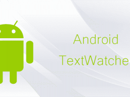 Text Watcher Android App